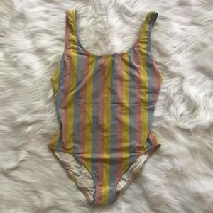 Solid & Striped Anne Marie Maui One Piece Large